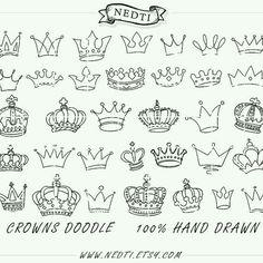 Crown doodlies