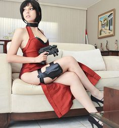 #Cosplay #AdaWong #ResidentEvil #Guns