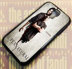Supernatural The End Begin For Samsung Galaxy S4 Black Rubber Case