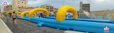 BRINCAPARK Te gustaria disfrutar de nuestro super tobogan de 50m ??  No dudeís, la diversión esta asegurada!  Contacta a través de: info@brincapark o en nuestro numero de telefono: 699 487 173    Disfruta con Brinca Park!