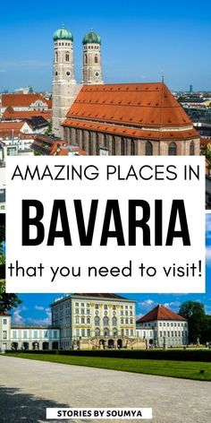 Visit the the most beautiful places in Bavaria Germany with this amazing Bavaria travel guide. The prettiest places in Bavarian Alps and wonderful things to do including the best photography spots. #CultureTravelWithSoumya #Bavaria #Germany