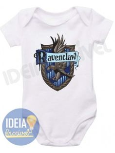 Body Infantil Casa Corvinal - Ravenclaw (Harry Potter)