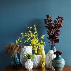 Linework Vases – Honeycomb