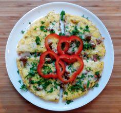 Omelett med sopp