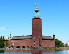 Entering Stockholm Sweden Harbor