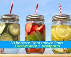 Detox beverages are a great way to lose weight naturally without excessive exercising. They naturally help speed up your metabolism and give you more energy. Dietas Detox, Easy Detox, Digestive Detox, Body Detoxification, Lemon Diet, Spa Water, Cleanse Your Body, Cleanse Diet, Juice Cleanse