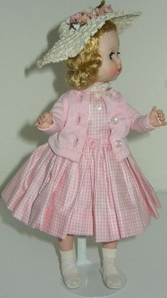 "BEAUTIFUL - LISSY JOINTED DOLL VINTAGE MADAME ALEXANDER ORIGINAL OUTFIT - 12"" #Dolls"