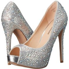 Lauren Lorraine Candy High Heels ($120) ❤ liked on Polyvore featuring shoes, pumps, high heel shoes, jeweled pumps, jeweled shoes, synthetic shoes and platform pumps