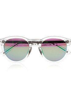 Keaton D-frame acetate sunglasses