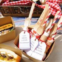 【ピクニック×DIY】ピクニックに持っていくフォークやスプーンをひと工夫!カトラリーセットの作り方<br /> by ARCH DAYS編集部