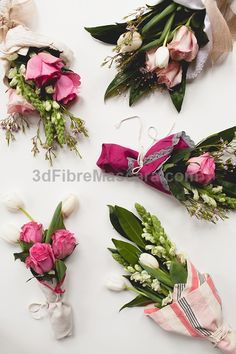 Mini floral bouquet tutorial for your best friends and girlfriends on Valentines Day. Each flower arrangement is super affordable because the flowers are from Trader Joes (or any grocery store).