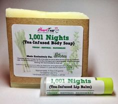 1,001 Nights Tea Soap & Lip Balm Pic gift set http://us.the-devotea.com/store/products/1001-nights-tea-lip-balm-and-soap