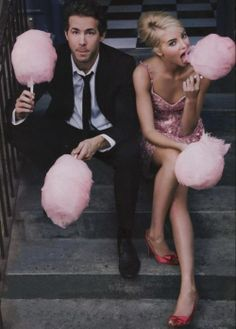 The girl is not Emma.-K Ryan Reynolds and Emma Stone