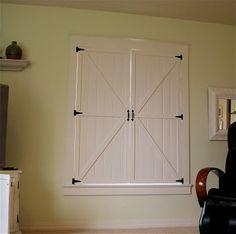 Beautiful DIY Interior Shutters! Remodelaholic