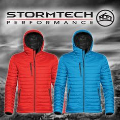 Brighten up your winter blues with the STORMTECH Performance Apparel range of technically advanced Jackets, Fleeces, Softshells and Polos #ShopNow