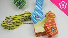 Cajitas de regalo en forma de corbata para Dia del Padre - DecoAndCrafts