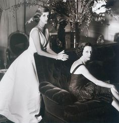 Mrs. Gloria Guinness and her daughter, Dolores