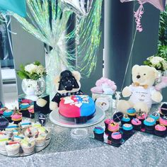 Star Wars Baby Shower - Gender Reveal - Princess Or Jedi - Luke or Leia - Darth Bear