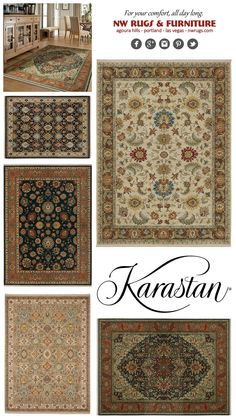 Karastan Month - Once a year sale - That is an additional 20% off all Karastan rugs which, makes most rugs on sale for over 40% off! Prices shown are the final sales price. This sale only comes once a year and if you are in the market for a rug, this is the best time to buy. Prices are available in all showrooms. #agourahills #portland #lasvegas #beaverton #wilsonville #home #interiodesign