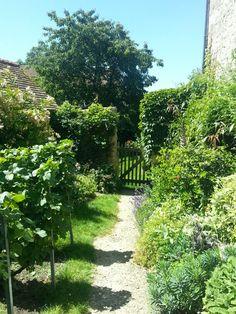 Garden, val d'Oise, France