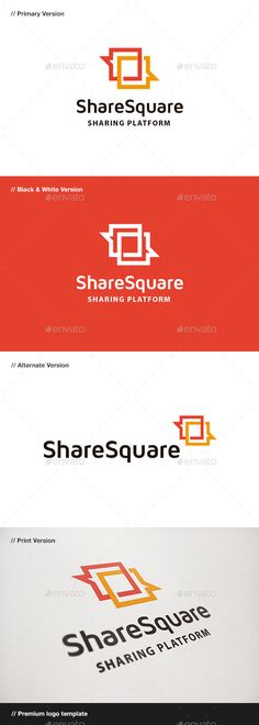 Share Square Blog & Chat - Logo Design Template Vector #logotype Download it here: http://graphicriver.net/item/share-square-blog-chat-logo/9436296?s_rank=1448?ref=nesto