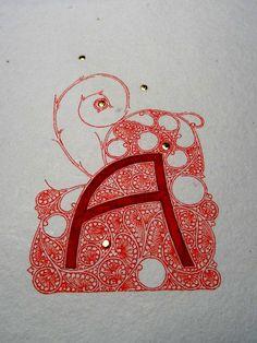 Anachropsy - Calligraphie latine par Benoit Furet - I just can't get enough