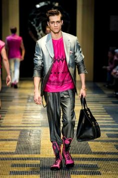 Milan Fashion Week Exclusive: Versace Men's Spring/Summer 2013 | Loaded
