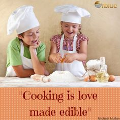 Cooking is love...