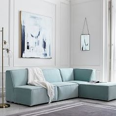 Cushy Deluxe Sectional Set