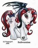 gothic my little pony