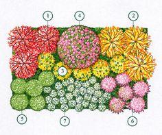 Giardino romantico aiuola romantica rose bosso lavanda for Progettazione aiuole