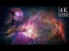 ▶ The Orion Nebula ~ Ultra HD 4K ~ - YouTube