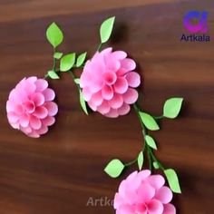 Paper Craft Ideas Brilliant paper craft ideas for everyone.Brilliant paper craft ideas for everyone. Paper Flowers Craft, Paper Crafts Origami, Paper Crafts For Kids, Paper Roses, Flower Crafts, Diy Flowers, Paper Crafting, Diy Crafts Hacks, Diy Crafts For Gifts
