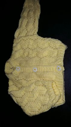 Baby girls knitted cardigan