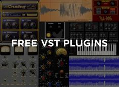 Best free VST plugins, Have you been searching for synth, bass, vocals or guitar simulation? Your search is over with these free VST plugins will. Music Recording Studio, Music Studio Room, Audio Studio, Recording Studio Design, Sound Studio, Music Software, Drum Lessons, Music Lessons, Recorder Music