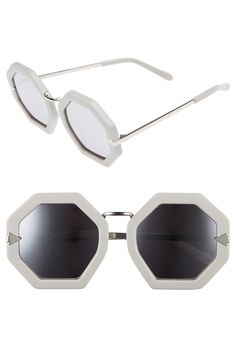 fb2b6df06abc Karen Walker  Moon Disco  Octagonal 53mm Sunglasses