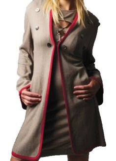 Coachman Coat Fall Winter, Autumn, Jacket Style, Vienna, Runway Fashion, Winter Outfits, Leather Jacket, Brown, Jackets