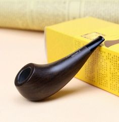 Gift Set Weed Pipe Creative Drumstick Style Wood Pipe 3mm Filter Smoking Pipe 10cm Mini Tobacco Pipe HW-900J