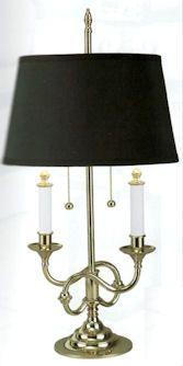 Brass candlesticks. I have a collection of Baldwin brass ...:Baldwin Brass lamp,Lighting