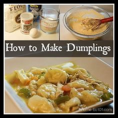 Heather says: Drop dumpling are easy to make and a great technique to keep in your toolkit. Nothing says comfort food like chicken and dumplings. When I first launched this site, I included this recipe for chicken noodle soup. I use the same technique, using homemade chicken stock, when I have it for my chicken…