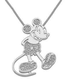 Disney fans will be delighted to wear this cool piece around town. Inspired by beloved classics and legendary characters, it adds familiar flair and playful style to any outfit.18'' longMetalImported