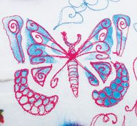 Machine Embroidery Workshops with Claire Muir  Don't forget to book your place with Claire (charges apply)  #Malvern #Worcestershire  26th-28th February, 2015 www.sccshows.co.uk