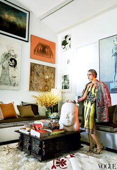 Mario Testino's L.A. Home. | yellowtrace blog »