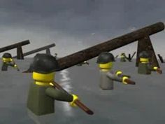 D Day Omaha Beach - Lego Movie by Morrison Brother Productions 2016 - YouTube