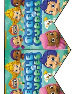 FREE Bubble Guppies Birthday Party Printables