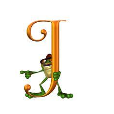 Alfabeto con ranita...J