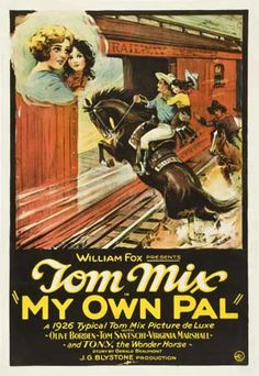 silent screen movie posters | Tom Mix Movie Posters Hot at Heritage