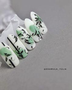 Simple Nails, Winter Nails, Cute Nails, Ren, Nail Art Designs, Russia, Instagram, Arabesque, Finger Nails