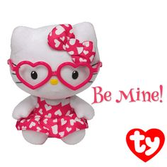 Hello Kitty Valentine's Day Ty Beanie Baby! #HelloKitty