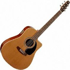 Seagull Acoustic Guitars S6 CW Cedar GT QII